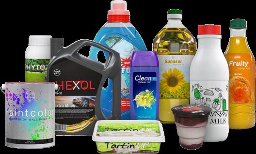 Fabrication de bouteille plastique pour lait, produits d'entretien