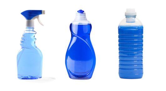 Emballages PET et produits ménagers
