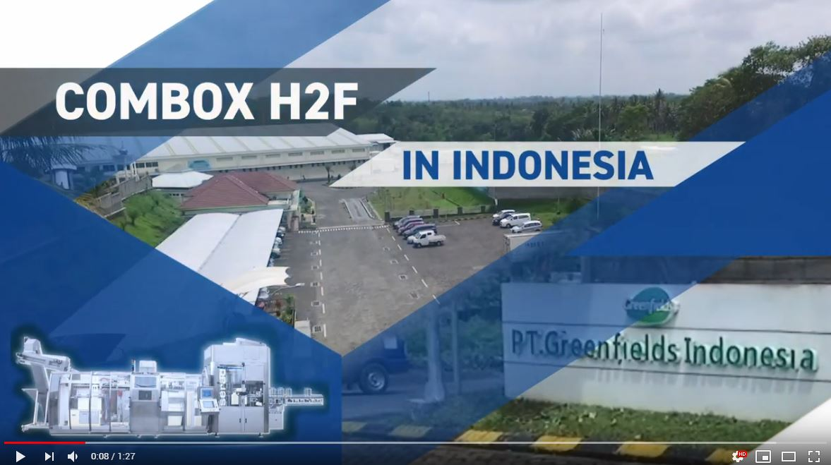 Combox H2F at PT Greenfields, Indonesia