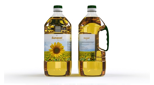 EDIBLE OIL –PET Blowing of big size container with handle